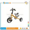 simple style kid tricycle with big wheels