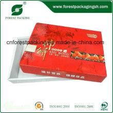 Caja personalizada de paquete de papel de frutos secos con logotipo