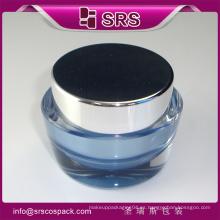 Tarro de crema único, frasco cosmético plástico para la crema y el empaquetado cosmético
