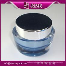 Pot à la crème unique, pot de plastique pour cosmétiques et cosmétiques