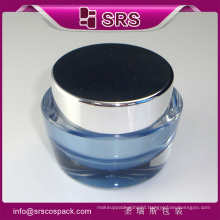 Unique cream jar ,plastic cosmetic jar for cream and cosmetic packaging
