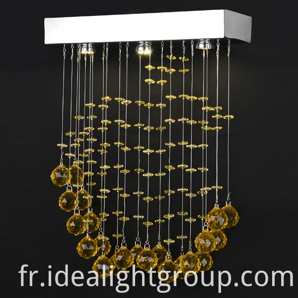 led chandelier hanging line