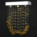 popular led chandelier hanging line pendant lamp