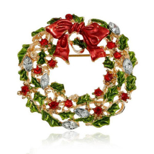 Alfileres de Navidad Navidad Jingle Bells Broche