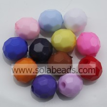 Outdoor 8MM Colors Round Gemstone Imitation Swarovski Beads
