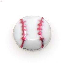 Programmable design volleyball charms,artificial floating locket charms