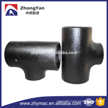 Sch 40 astm a234 wpb seamless t shape fitting