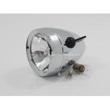 Lanterna recarregável bicicleta de alumínio