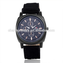 Speziell entworfene Luxus-Mode-Quarz-Leder-Armbanduhr SOXY051