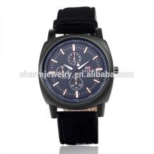 Especialmente diseñado de lujo Vogue reloj de pulsera de cuero de cuarzo SOXY051