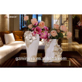 hotel decor design high quality polyresin vase for sale