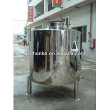 Tanque de água de aço inoxidável de 500 litros para a planta da purificação de água