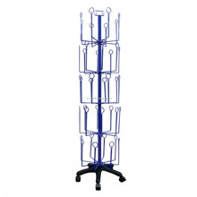 Merchandising Wire Faltbare Rotating Großhandel Racks Bodenbelag 5-Tier Finger Puppet Display Rack