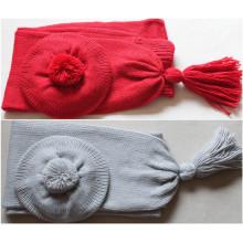 (LKN15032) Выдвиженческий шарф зимы связанный