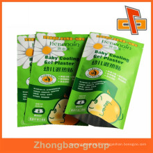 cuatom excellent Quality laminated heat sealed foil packaging