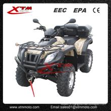 Utilitaire de 4WD 4 roues Drice inverse 650cc bas prix ATV