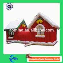 Maison de noël gonflable à vendre