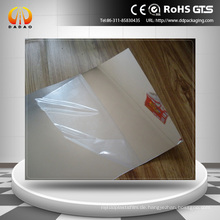 Superior Gloss Surface Reflective PET Mylar Film Silber Effekt PET Film