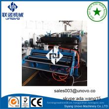 Rodillo de placa de metal anterior placa de cartón de hoja de formación de la máquina