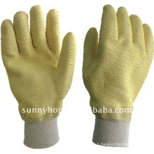 stardard latex glove knit wrist