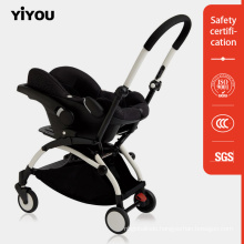 Top Sale Two Decoration High Quality Deluxe Chindren Baby Buggy