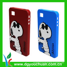 2012 Custom Design Cell Phone Silicone Cases , Colorful Silicone Cover For Phone