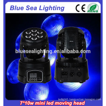 7x10w rgbw 4in1led cheap moving head lights