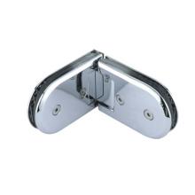 Charnière en verre en acier inoxydable pour salle de bain