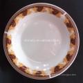 Exportador de China para placa de porcelana omega, placa profunda