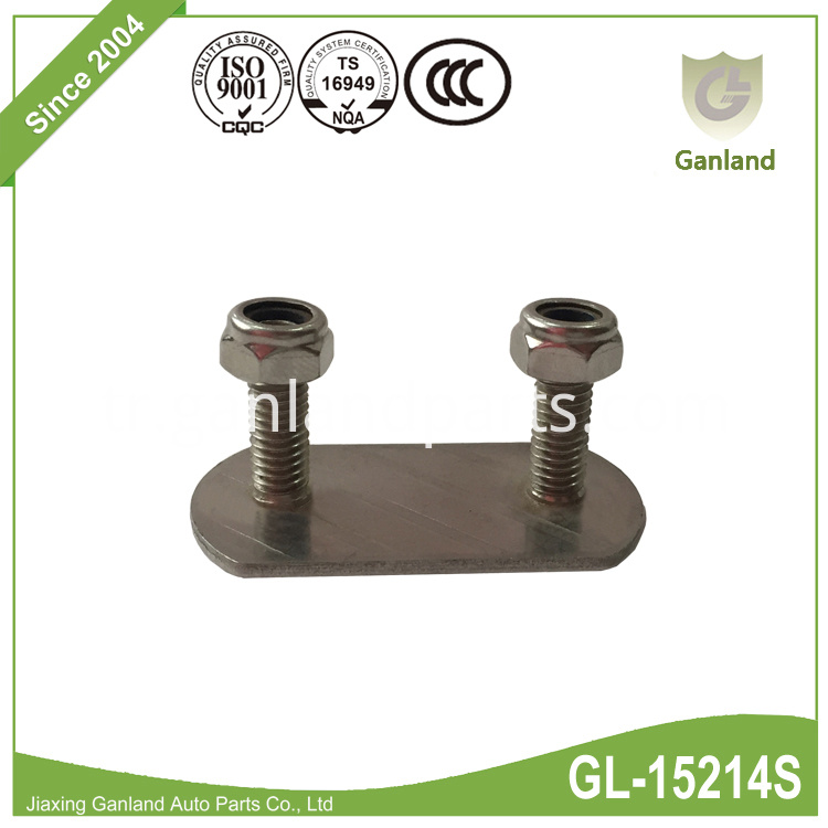 Stainless Steel 2-bolt Plated GL-15214S
