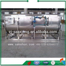 China Blancher Machine For Sterilization And Color Protection