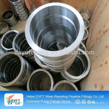 carbon steel concrete pump pipe flanges manufacturer in China