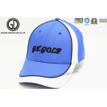 Chapéu de basebol profissional de alta qualidade de bordado Capacete de esportes de golfe