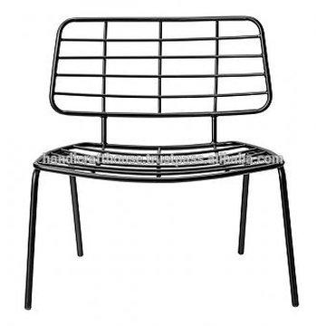 Industrial Vintage Metal Wired Double Chair