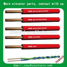 flat elevator cable lift cable,used crane cable, elevator travel cable elevator flat cable