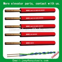 Cabo de elevador apartamento cabo de elevador, cabo de guindaste usado, cabo de elevador de viagem cabo de elevador plana