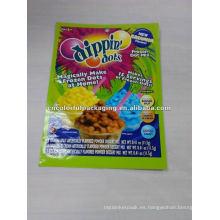 Bolso de empaquetado icecreer de Dippin Dots