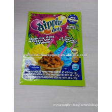 Dippin Dots ice creamier packaging bag