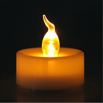 Moins cher réaliste LED bougie chauffe-plat bougie