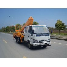 ISUZU aluminium folding telescopic work platform vehicle
