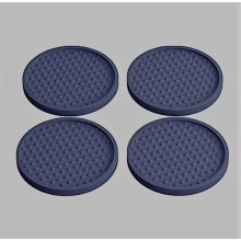 Bebida de borracha Tea Bar Mat Coaster