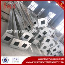 Quadratischer Stahlrohrlicht-Lampenstab