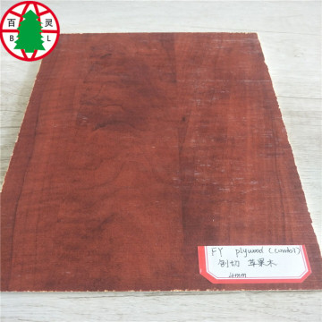Apple wood grain Melamine faced plywood good quality