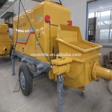 CE & ISO9001 Certification electric trailing concrete pump of big power concrete pump machinery used for concrete building