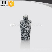 bouteilles de vernis à ongles uniques en verre coloré en gros