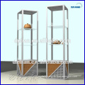 exhibition stand for sample display, with show case, for cosmetic, perfume