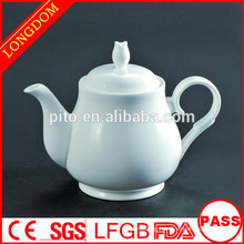 2014 hot sale elegant porcelain coffee pot teapot