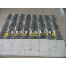 Chinese natural color best quality chinchilla blanket