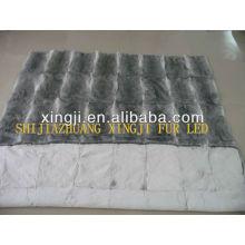 Китайский естественный цвет лучшее качество шиншилла одеяло