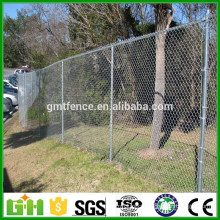 Cheap!!! galvanized wholesale chain link fence/used chain link fence for sale/decorative chain link fence